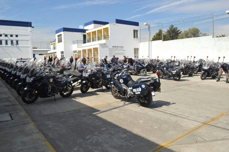 Seguridad Pública de Toluca incorpora al servicio 80 motocicletas