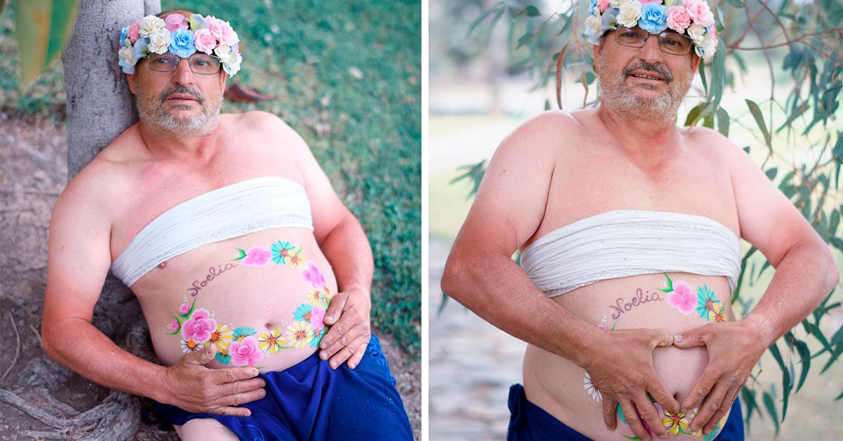Viral: Esposo aprovecha sesión fotográfica de embarazo que su pareja no quisoe