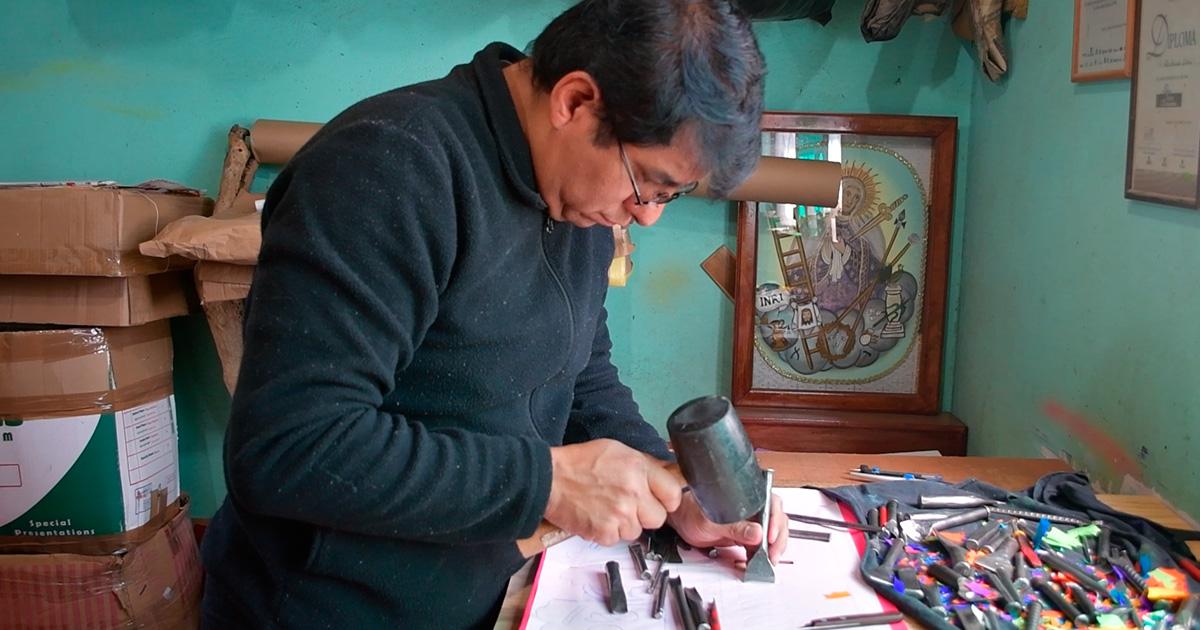 Artesanías mexicanas, el papel picado de Metepec para el mundo