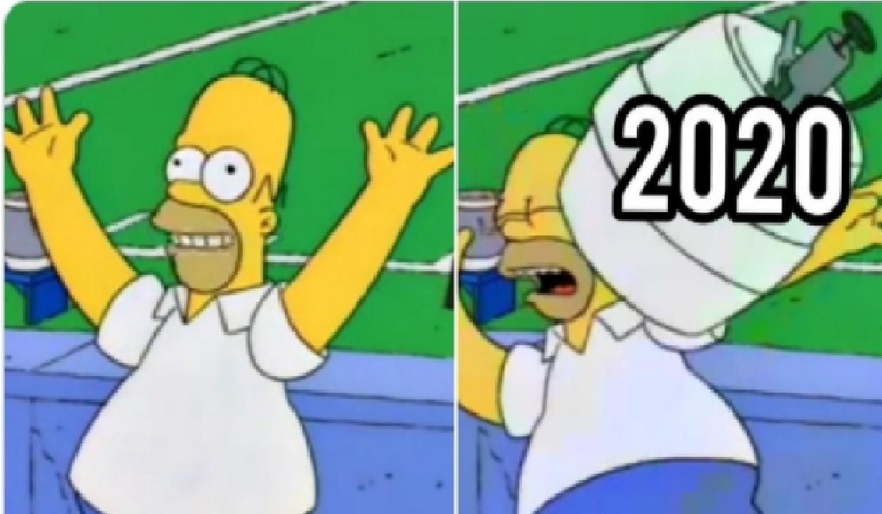 Los mejores memes para  despedir el 2020