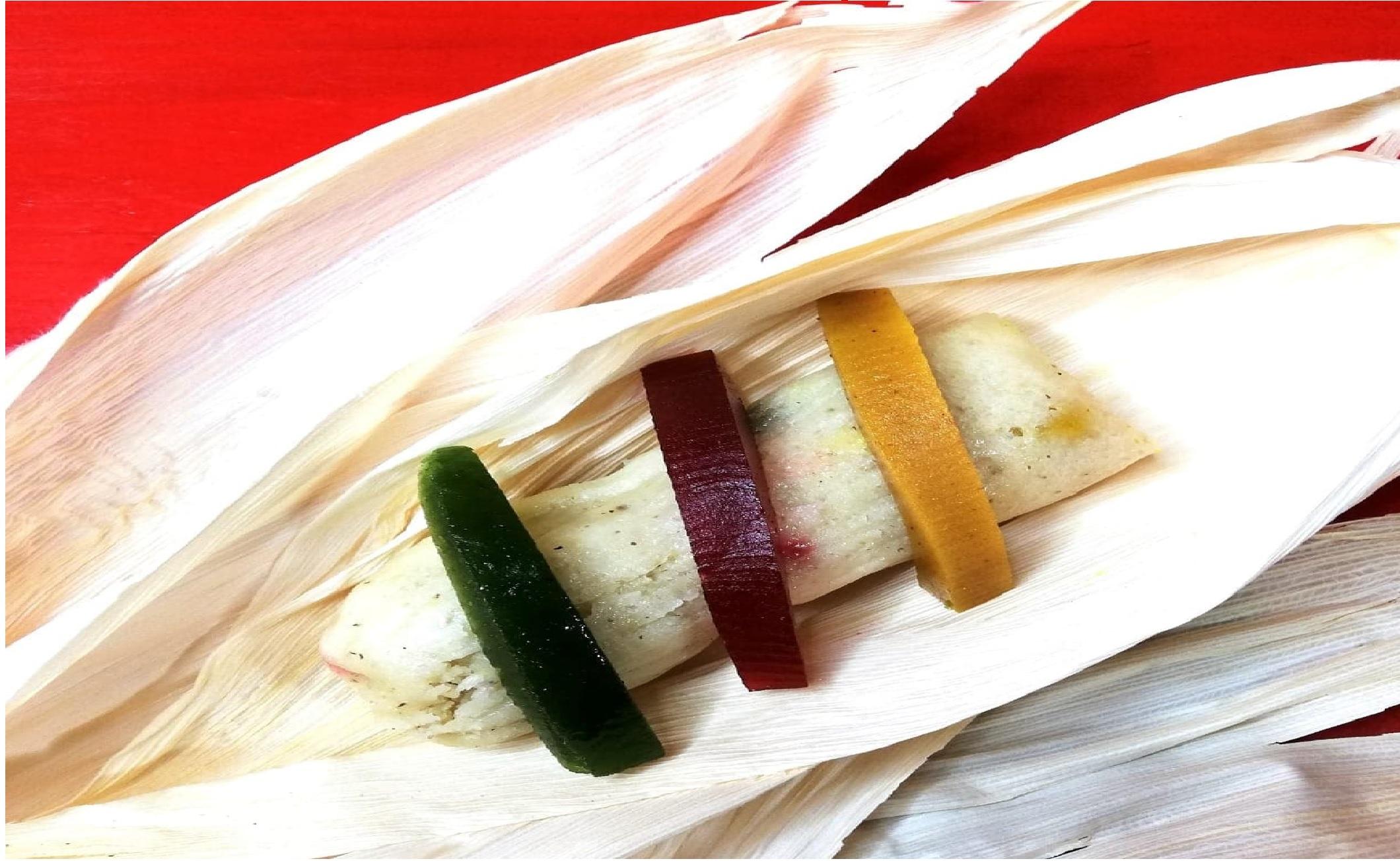Atención: ¡Crean en Toluca los tamales de Rosca de Reyes!