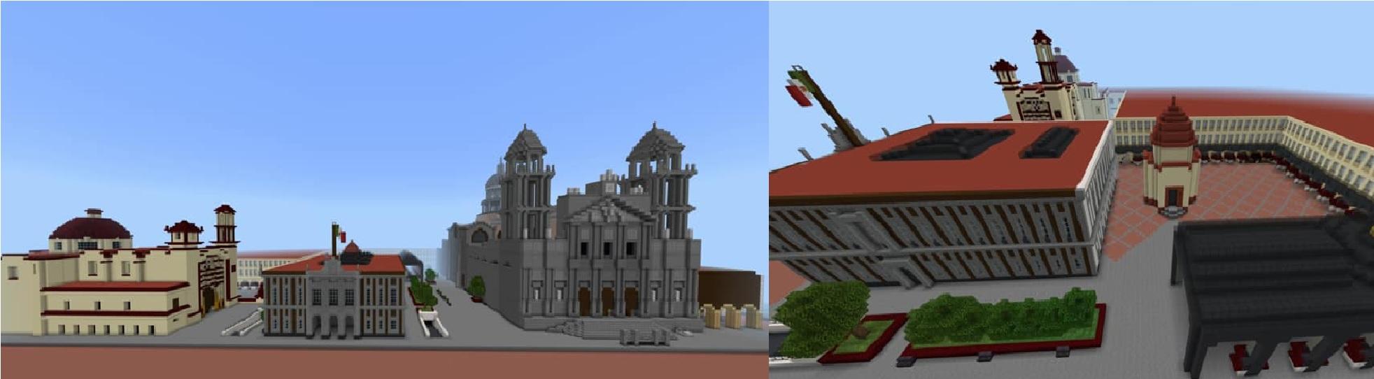 El Centro Histórico de Toluca ya existe en Minecraft gracias a un toluqueño || FOTOS