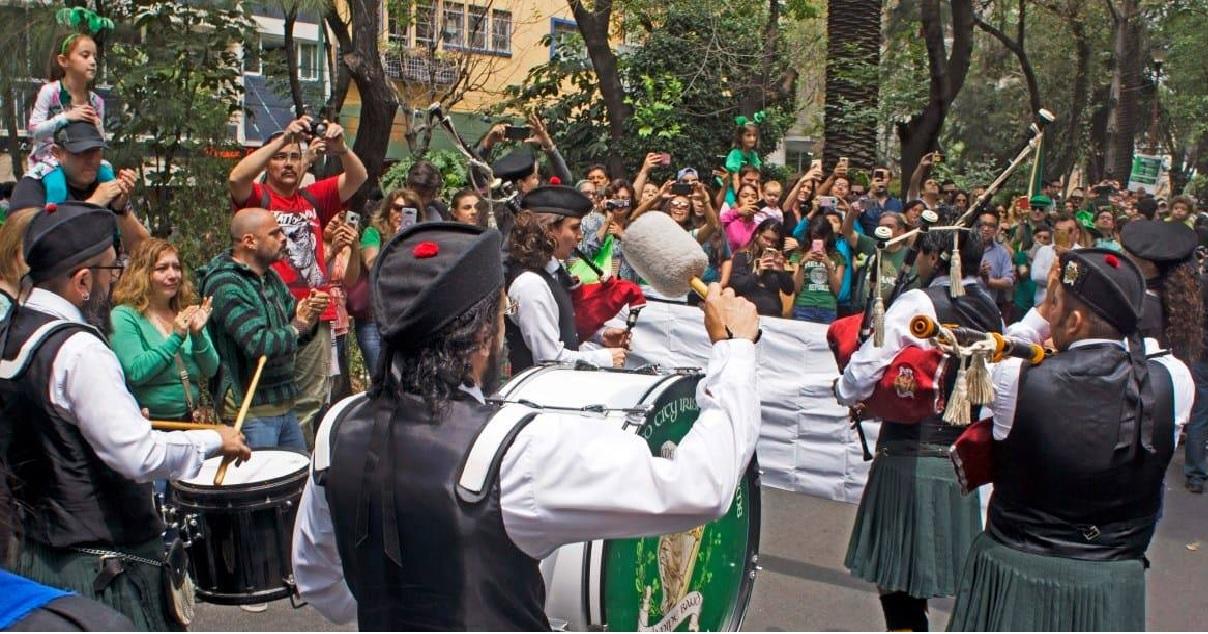 Las tradiciones del día de San Patricio y su festejo en México