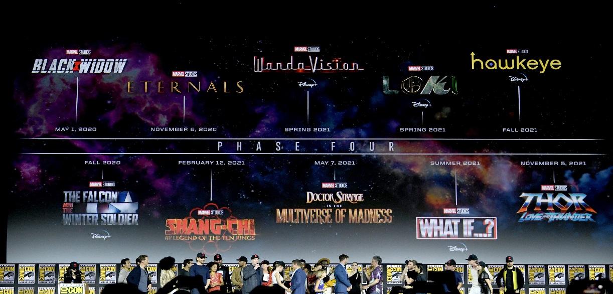 Estas son las fechas de estreno para la fase 4 de Marvel Studios