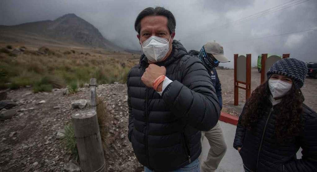 para ingresar al Nevado de Toluca tendrás que pagar 50 pesos por un brazalete