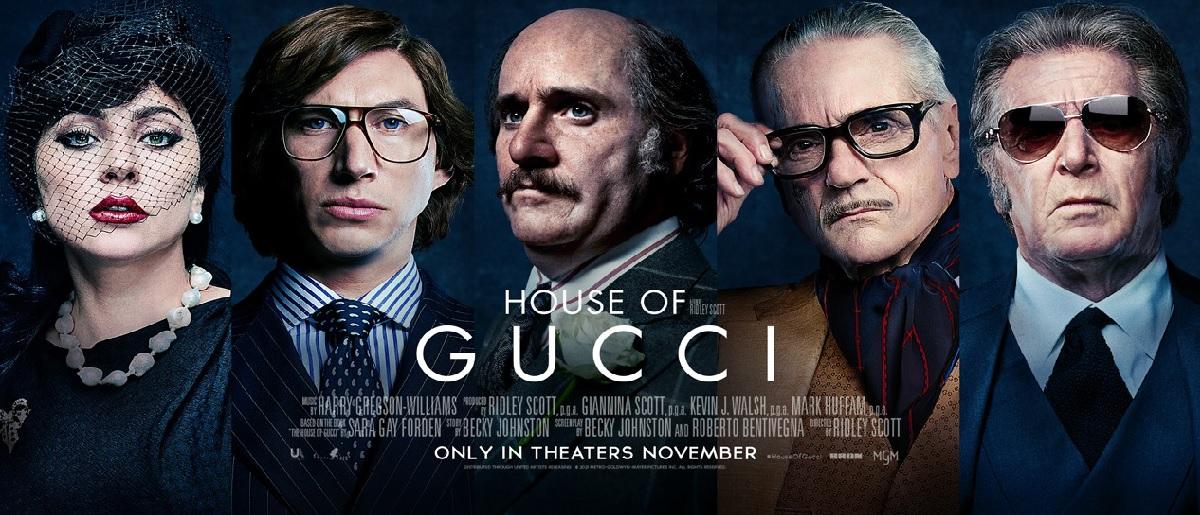 """""""House of Gucci"""" ha lanzado sus pósters oficiales y las redes enloquecen"""