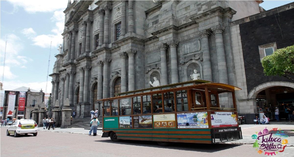 Viaja en el Tranvía de Toluca y conoce la historia de la ciudad