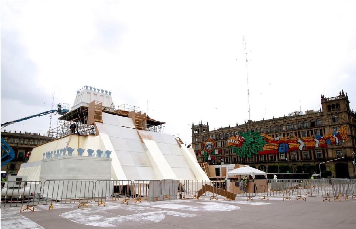 El 13 de agosto inauguran la maqueta del Templo Mayor en el Zócalo de la CDMX