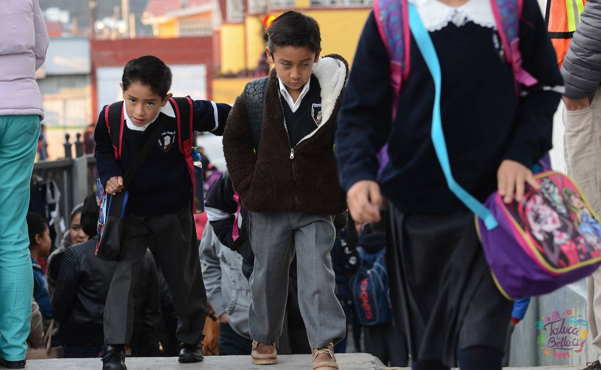 Alumnos regreso a clases entidad mexiquense