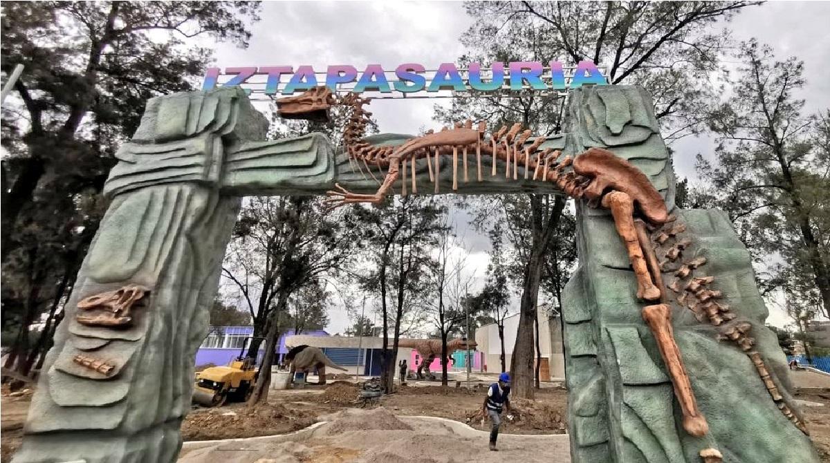 Conoce IztapaSauria el nuevo parque jurásico que tendrá CDMX