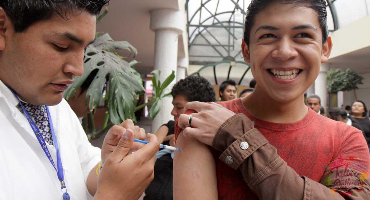 Edomex: Inicia vacunación para personas de 18 a 29 años