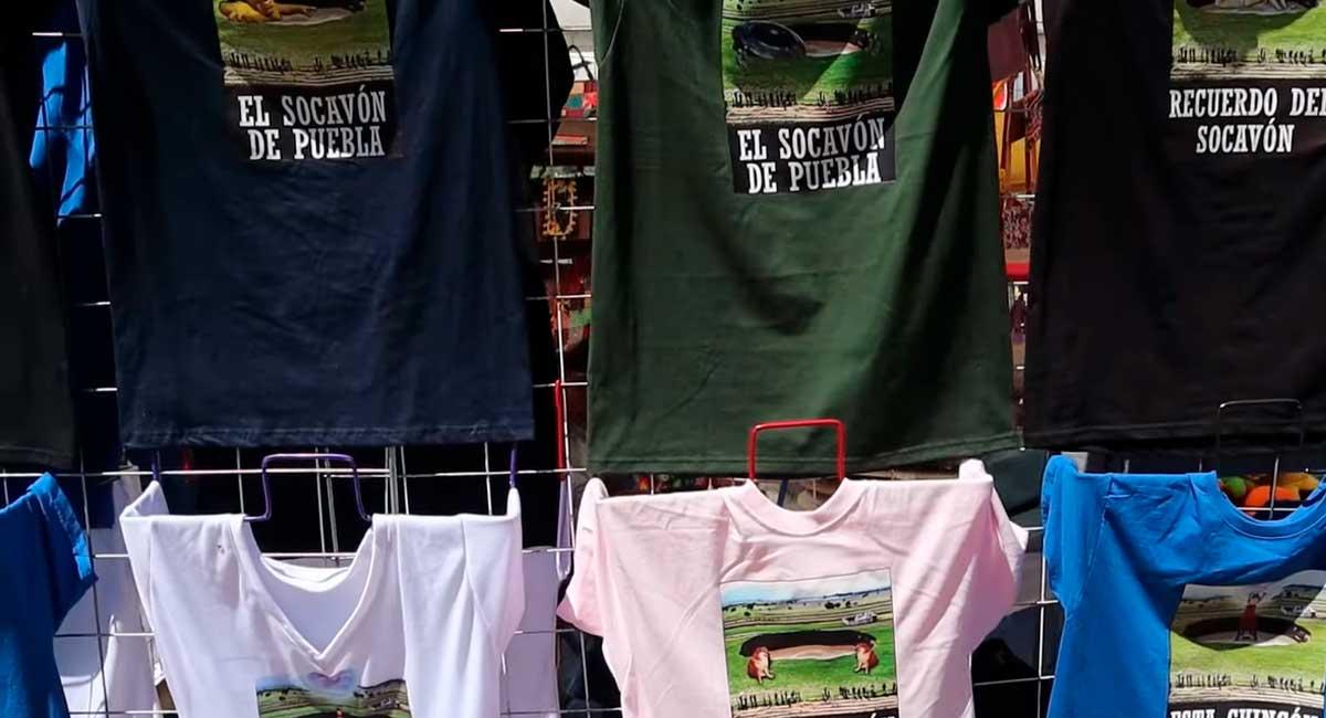 El socavón de Puebla se convierte en atracción turística