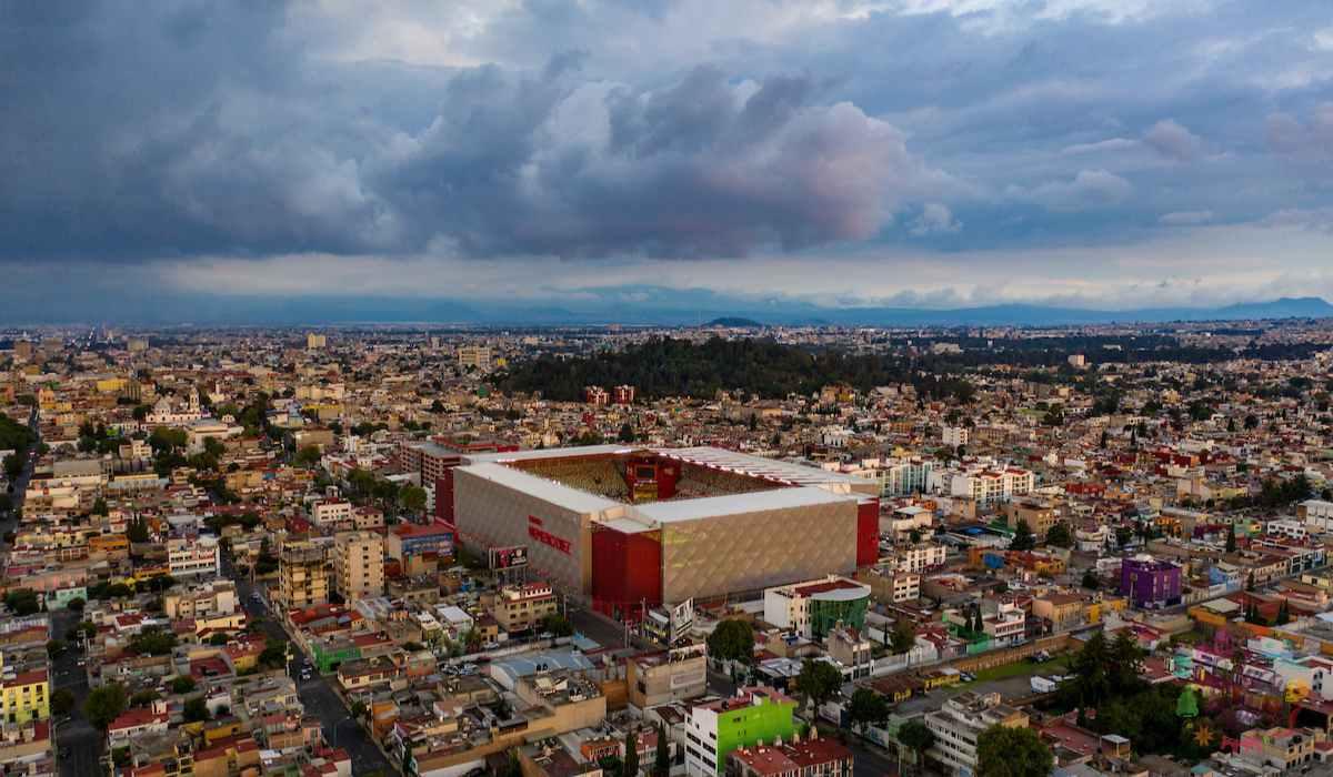 Estadio Nemesio Diez, el recinto más europeo del fútbol mexicano
