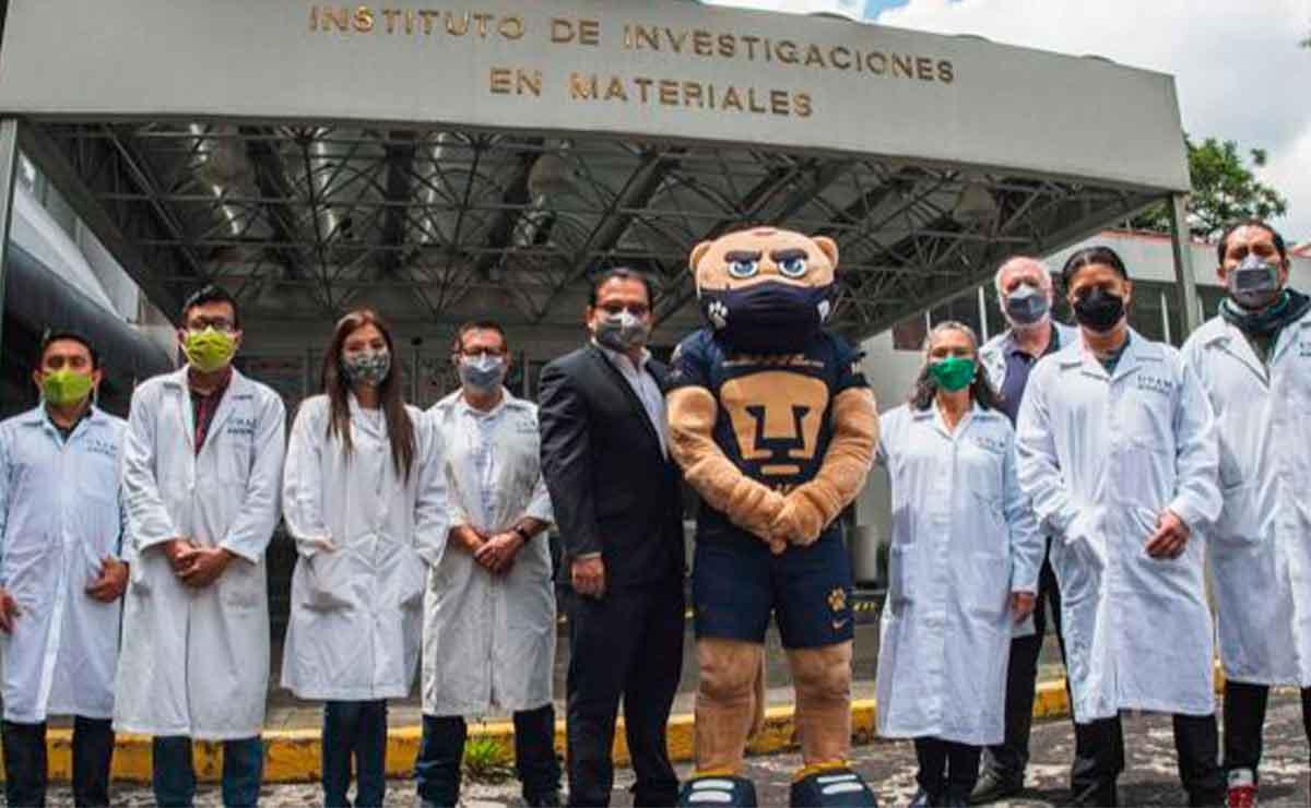 UNAM: Investigadores crean cubrebocas que mata al COVID-19