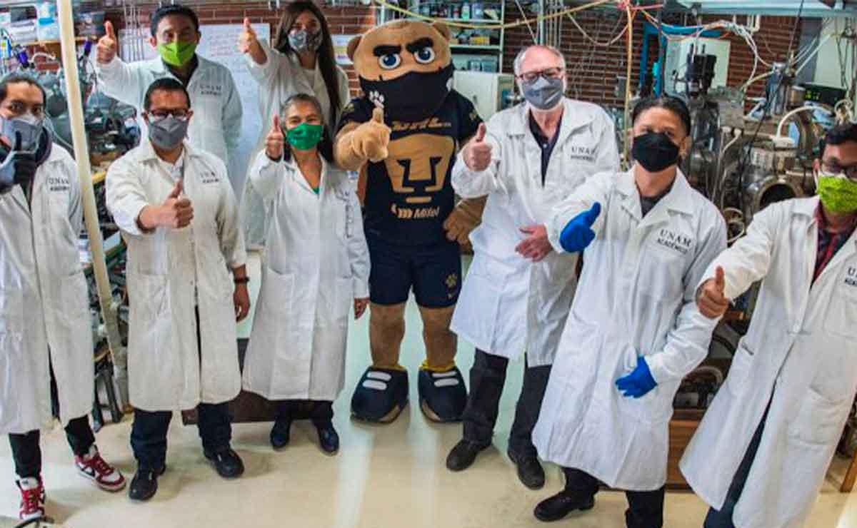 UNAM Investigadores crean cubrebocas anticovid